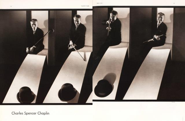 Article Preview: Charles Spencer Chaplin, May 1931 1931 | Vanity Fair