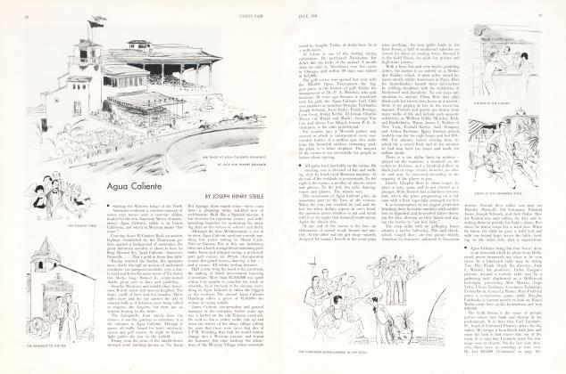 Article Preview: Agua Caliente, July 1931 1931 | Vanity Fair