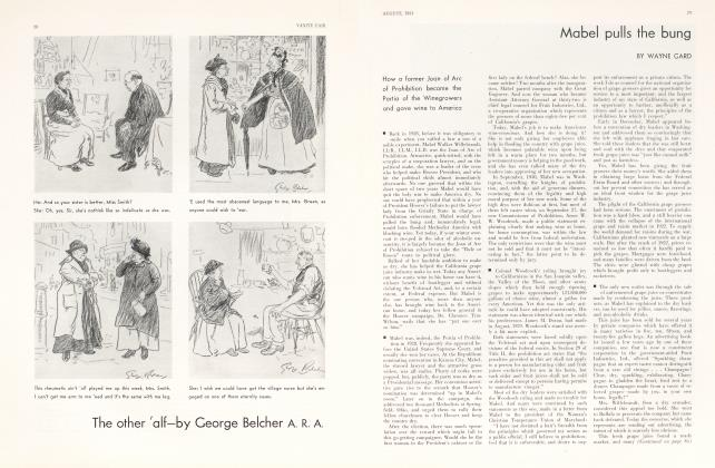 Article Preview: Mabel pulls the bung, August 1931 1931 | Vanity Fair