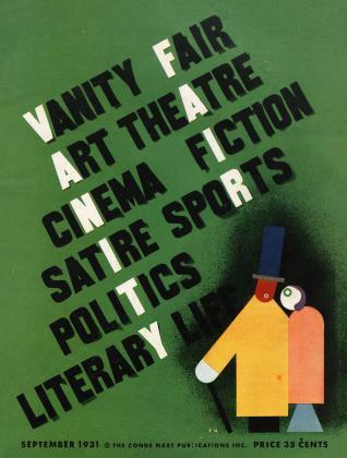 September 1931 | Vanity Fair