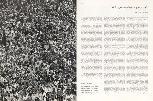 """Article Preview: """"A large number of persons"""", September 1931 1931 