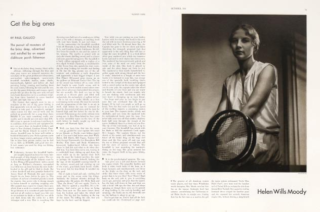 Article Preview: Get the big ones, October 1931 1931 | Vanity Fair