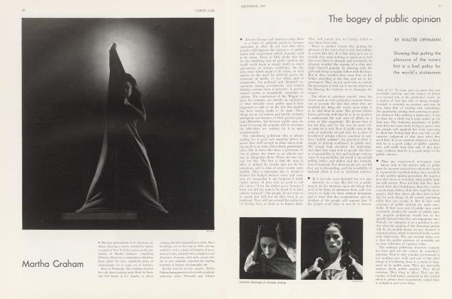 Article Preview: Martha Graham, December 1931 1931 | Vanity Fair