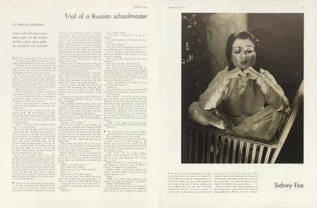 Trial of a Russian schoolmaster