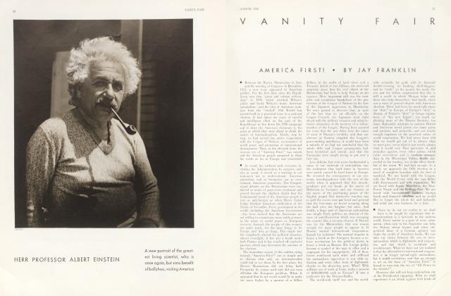 Article Preview: AMERICA FIRST!, March 1932 | Vanity Fair
