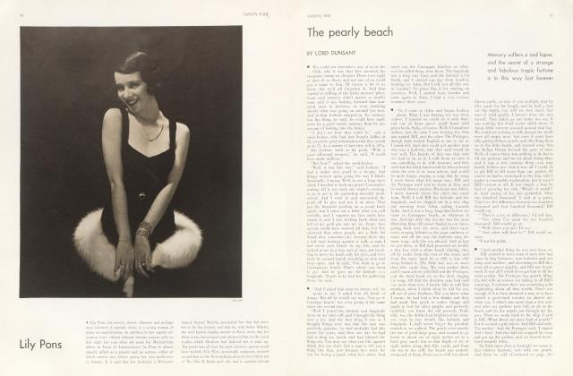 Article Preview: The pearly beach, March 1932 | Vanity Fair