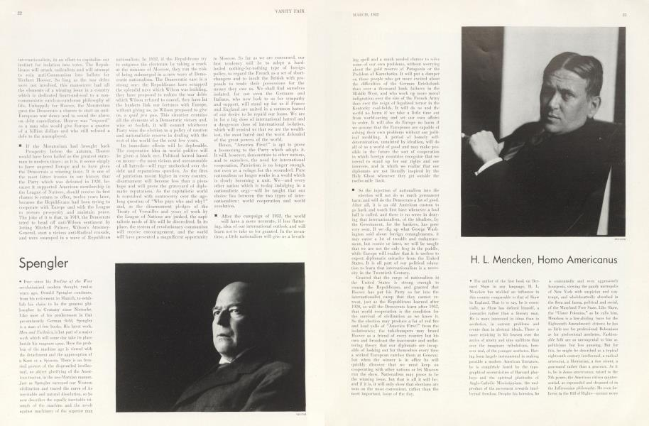 H. L. Mencken, Homo Americanus