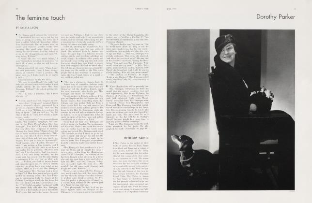 Article Preview: DOROTHY PARKER, May 1932 1932 | Vanity Fair