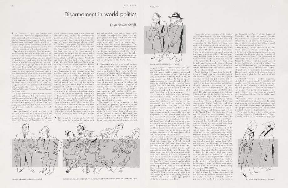 Disarmament in world politics