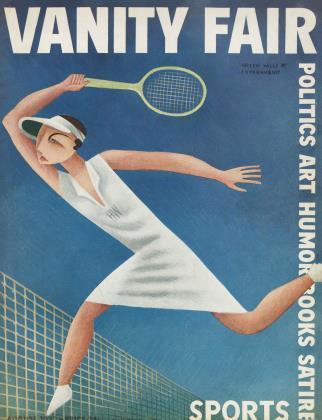 August 1932 | Vanity Fair