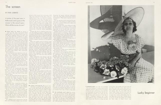 Article Preview: The screen, August 1932 1932 | Vanity Fair