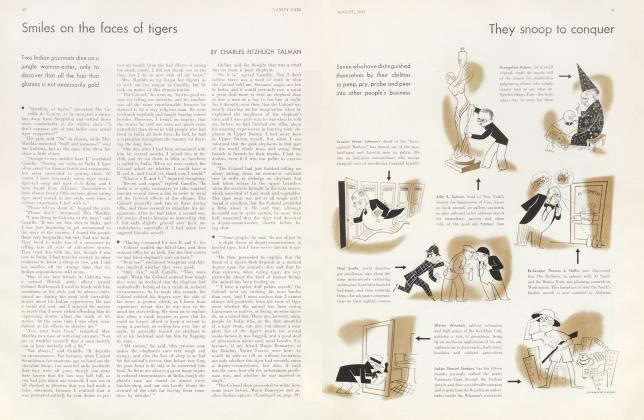 Article Preview: Smiles on the faces of tigers, August 1932 | Vanity Fair