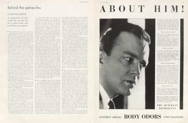 Article Preview: Behind the pot-au-feu, August 1932 | Vanity Fair