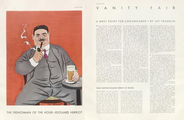 Article Preview: A WEST POINT FOR CONGRESSMEN, August 1932 1932 | Vanity Fair