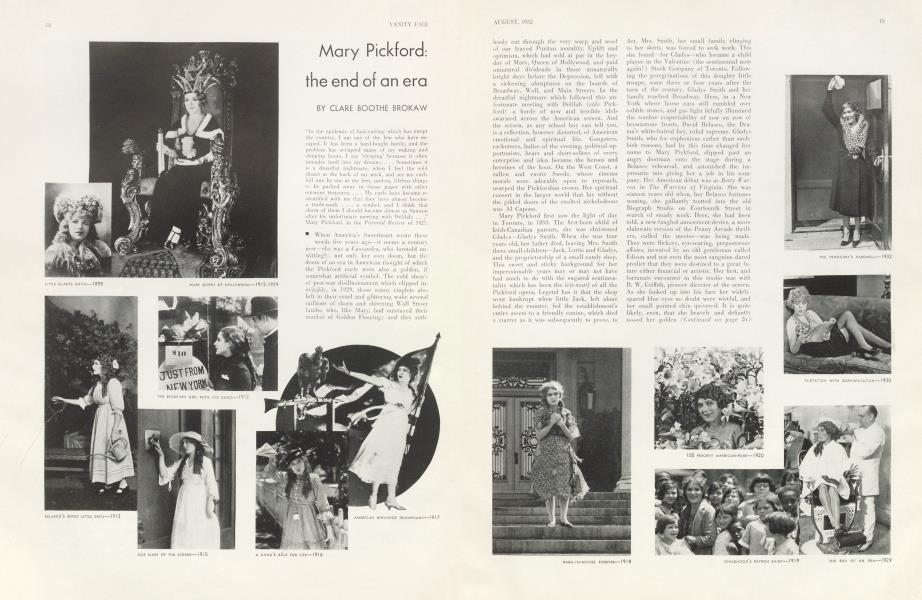 Mary Pickford: the end of an era