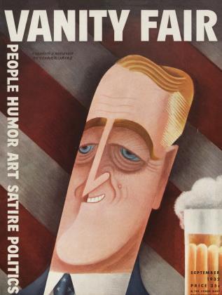 September 1932 | Vanity Fair