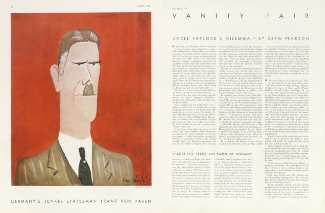 Article Preview: UNCLE SHYLOCK'S DILEMMA, October 1932   Vanity Fair