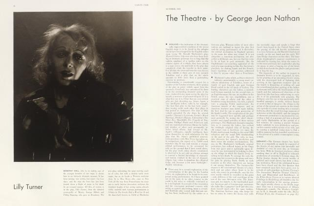 Article Preview: The Theatre, October 1932 | Vanity Fair