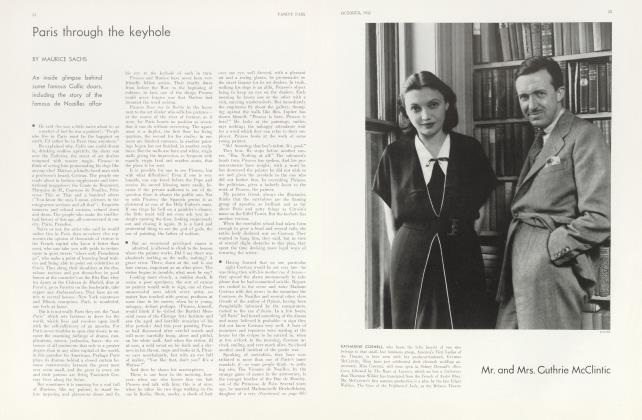 Article Preview: Paris through the keyhole, October 1932 | Vanity Fair