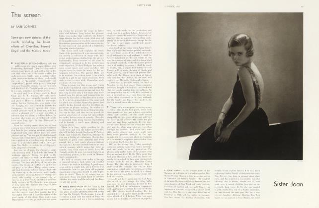 Article Preview: The screen, October 1932 1932 | Vanity Fair