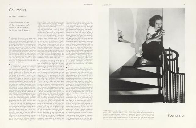 Article Preview: Columnists, October 1932 1932 | Vanity Fair