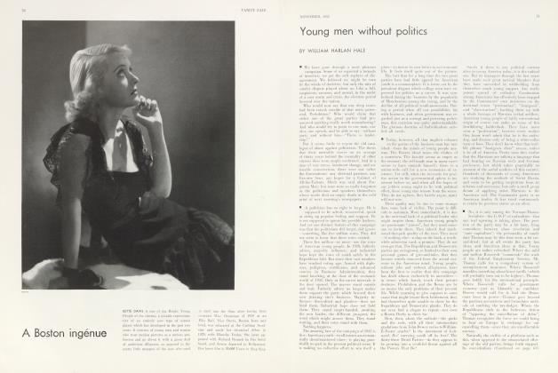 Article Preview: A Boston ingénue, November 1932 1932 | Vanity Fair