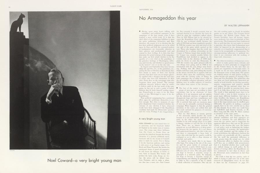 Noel Coward—a very bright young man