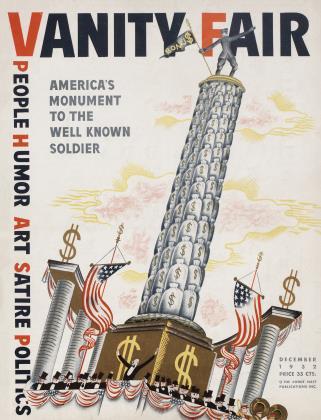 December 1932 | Vanity Fair