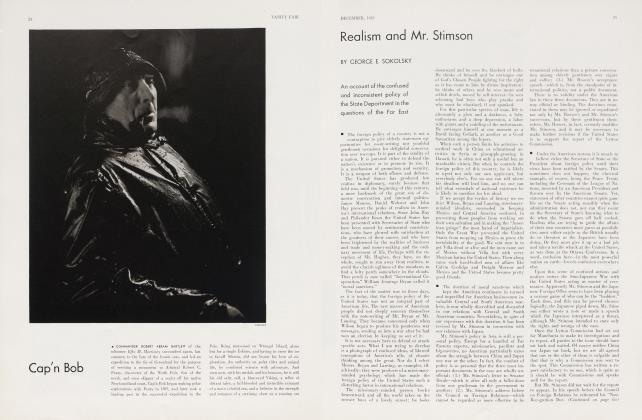 Article Preview: Realism and Mr. Stimson, December 1932 1932 | Vanity Fair