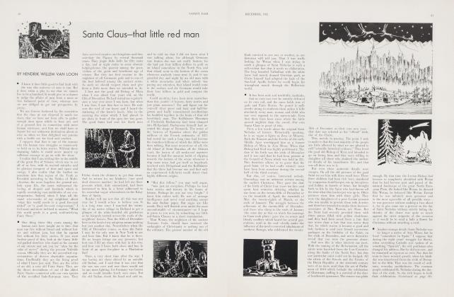 Article Preview: Santa Claus—that little red man, December 1932 | Vanity Fair