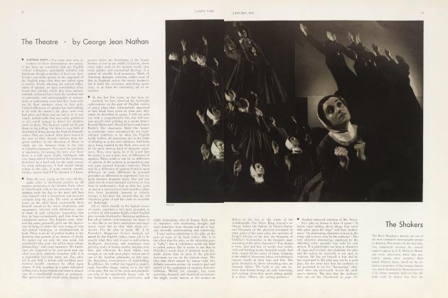 Article Preview: The Theatre, January 1933 | Vanity Fair