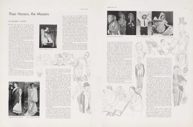 Article Preview: Their Honors, the Mayors, February 1933 | Vanity Fair