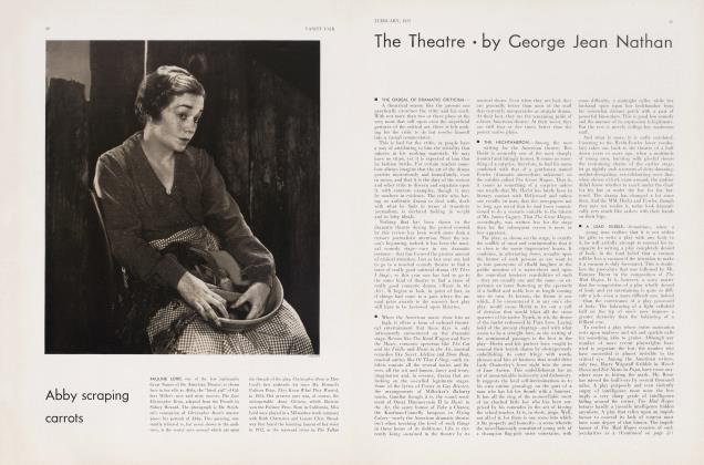 Article Preview: The Theatre, February 1933 | Vanity Fair