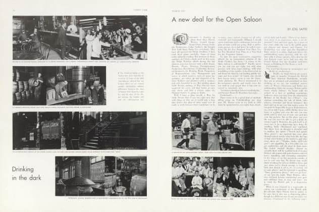 Article Preview: A new deal for the Open Saloon, March 1933 | Vanity Fair