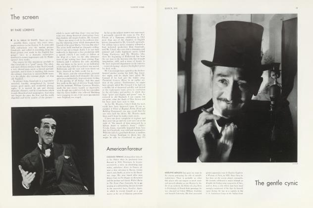 Article Preview: The screen, March 1933 | Vanity Fair