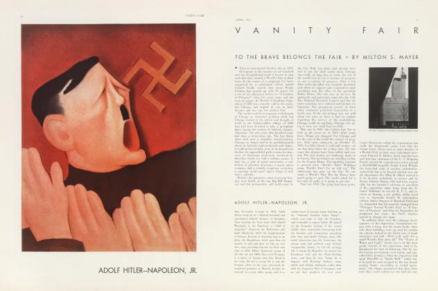 Article Preview: TO THE BRAVE BELONGS THE FAIR, April 1933 | Vanity Fair