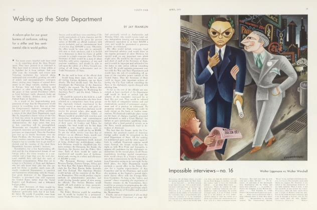 Article Preview: Waking up the State Department, April 1933 | Vanity Fair
