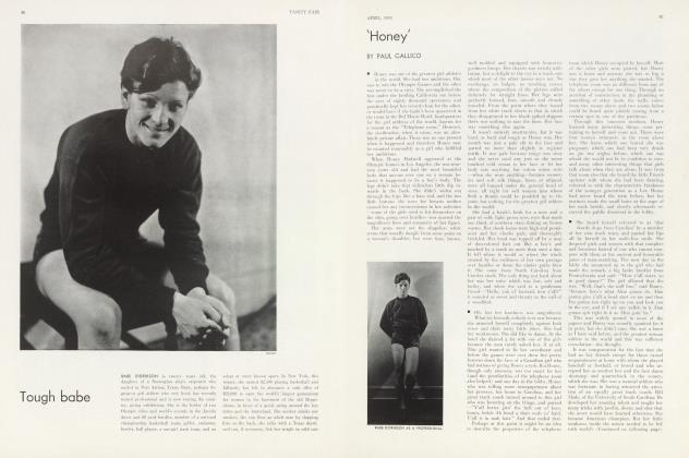 Article Preview: 'Honey', April 1933 | Vanity Fair