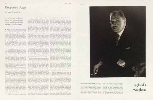 Article Preview: Desperate Japan, May 1933 | Vanity Fair