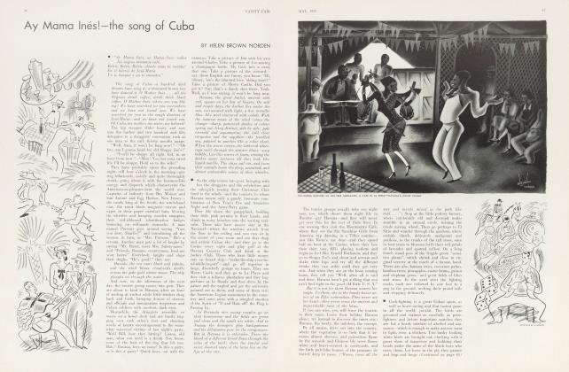 Article Preview: Ay Mama Inés!—the song of Cuba, May 1933 1933 | Vanity Fair