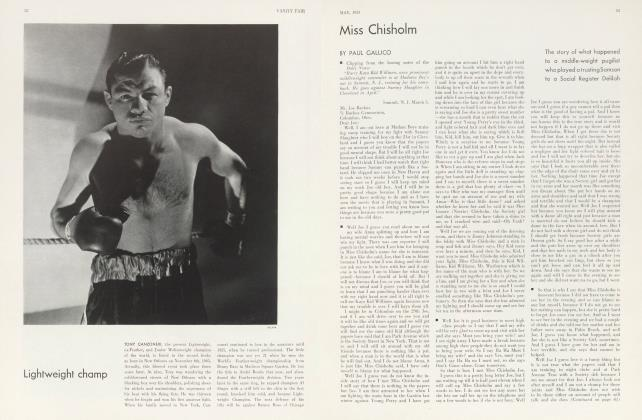Article Preview: Miss Chisholm, May 1933 1933 | Vanity Fair