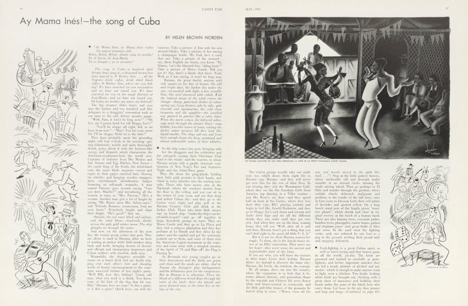 Ay Mama Inés!—the song of Cuba