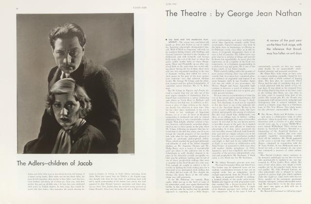 Article Preview: The Theatre, June 1933 | Vanity Fair