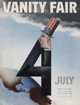 July 1933 | Vanity Fair