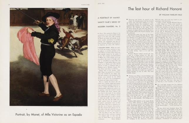 Article Preview: The last hour of Richard Honoré, July 1933 | Vanity Fair