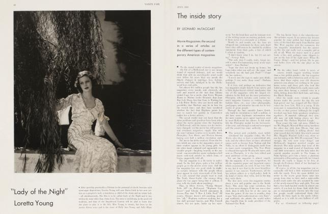 Article Preview: The inside story, July 1933 | Vanity Fair