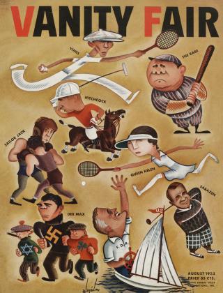 August 1933 | Vanity Fair