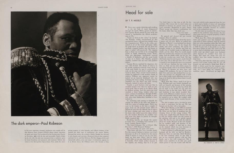 The dark emperor—Paul Robeson