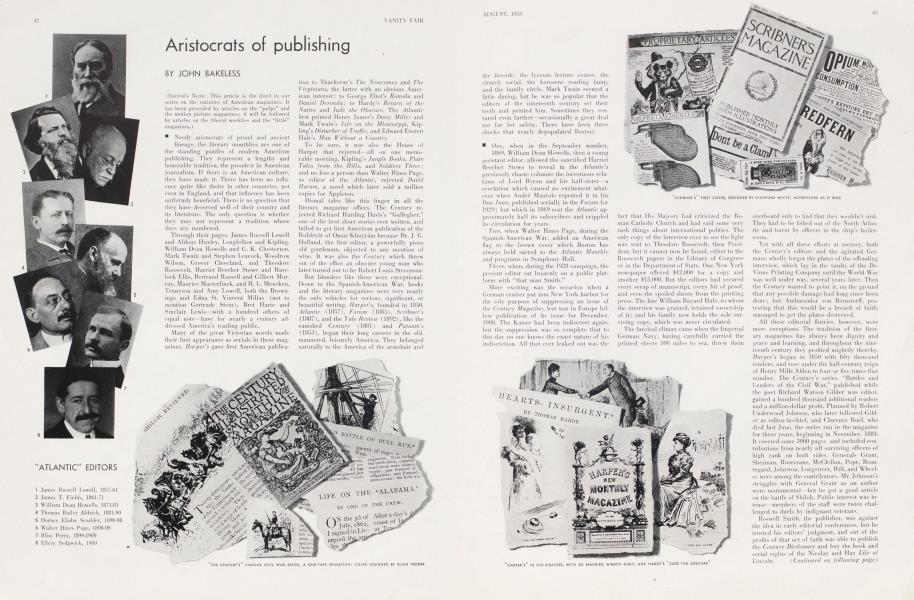 Aristocrats of publishing