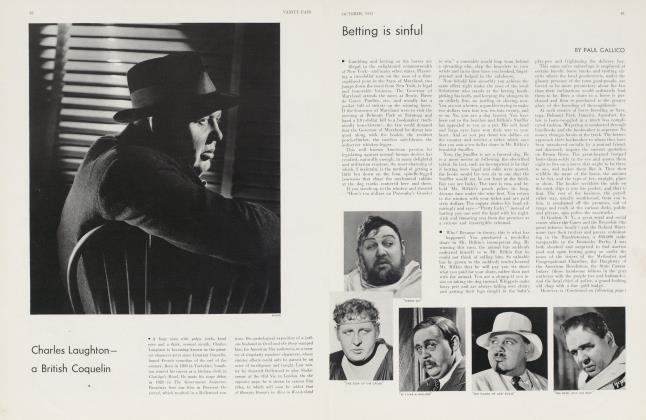 Article Preview: Betting is sinful, October 1933 1933 | Vanity Fair